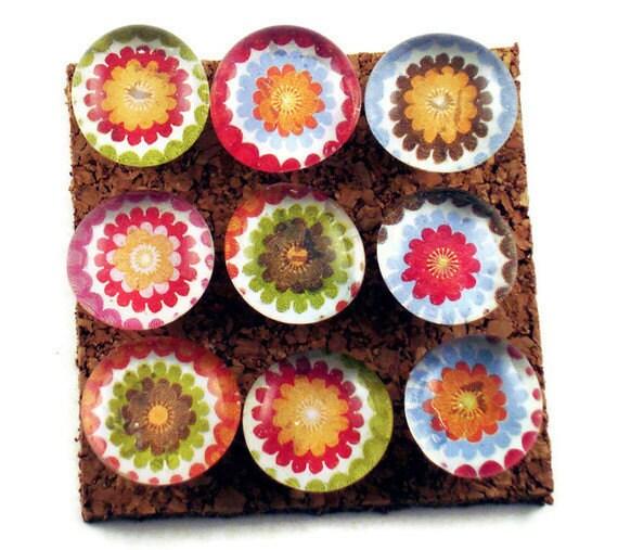 Decorative  Push Pins Cork Board Pins  Thumb Tacks Bulletin Board Pins  in Jubilee  (P57)