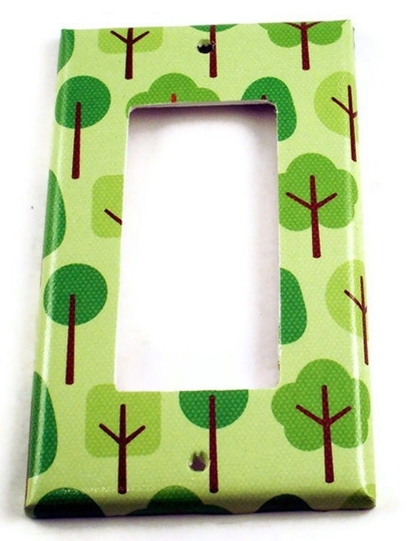 Switchplate Light Switch Cover in  Friendly Forest (132R)