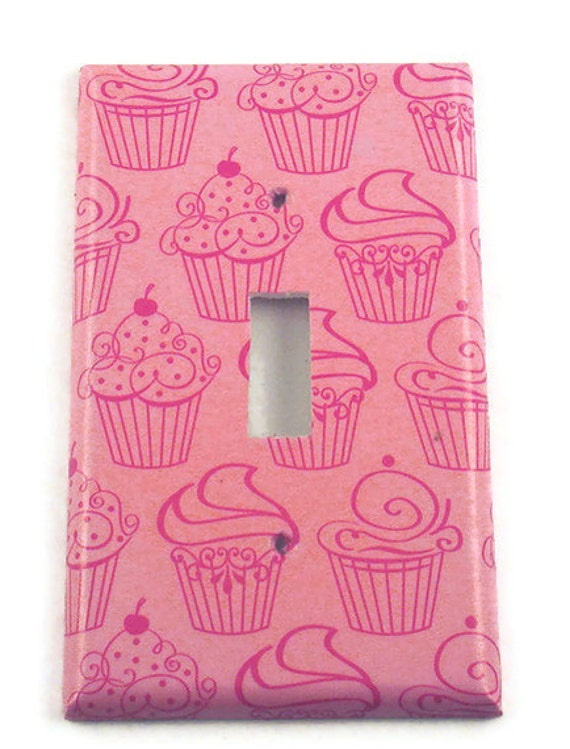 Light Switch Cover Wall Decor  Switchplate  Single  Light Switch Plate  in Patisserie (240S)