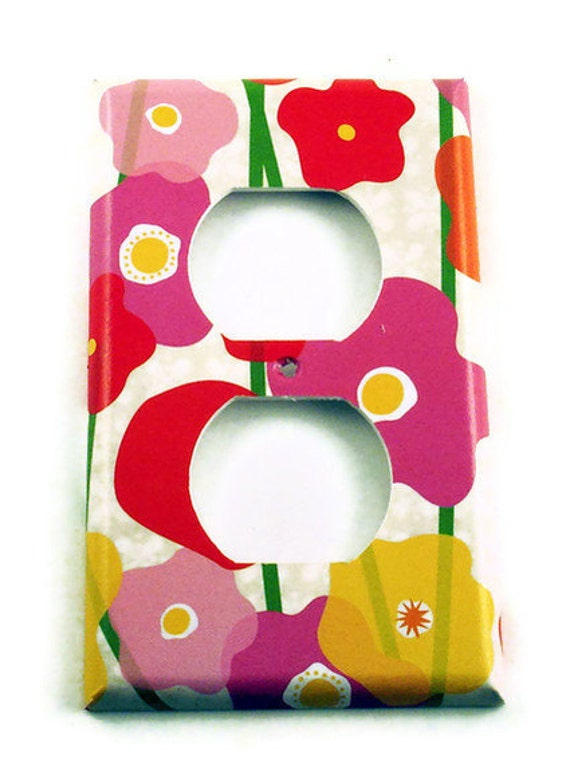 Light Switch Cover Wall Decor Switch Plate Outlet  Switchplate  in  Precious  (259O)