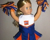 American Girl or Other 18 in. Doll  Cheerleader Uniform