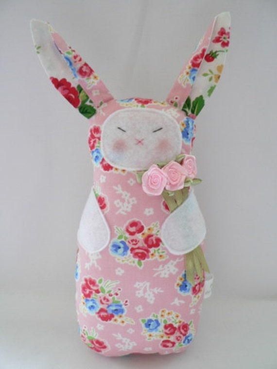 Bunny Rabbit softie toy Bunnie Valentine's day Easter