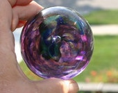 Purple paperweight