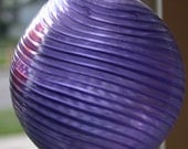 Purple swirl Garden Ball 5294