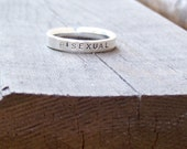 BISEXUAL Word Ring