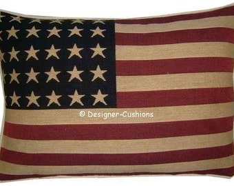 USA American Stars Stripes Flag Tapestry Cushion Pillow Cover