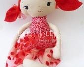 Scarlet Mae, whimsy doll for little girls