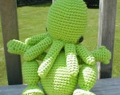 Everybody's Favorite Elder God - Custom Cthulhu Amigurumi