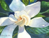Sweet Gardenia watercolor notecards by Arlene Helder
