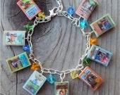 LittleHouseonthePrairie Books Charm Bracelet