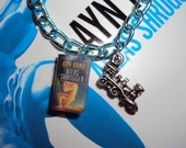 AtlasShrugged ReardenSteel Book Charm Bracelet READY TO SHIP