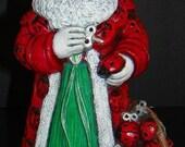 Lady Bug Santa
