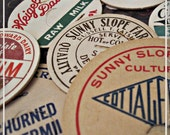 Vintage Milk Bottle Caps - grab bag of 25