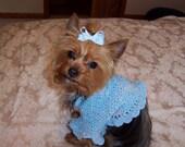 LITTLE MISSY  Dog Shrug Sweater Knit\/Crochet Pattern