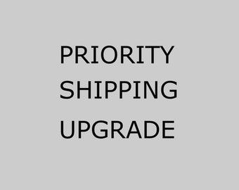 Prioroty Shipping Upgrade