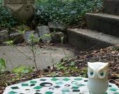 Glitter Eye Owl for Nug Pot Stash Jar DRUGS Pills