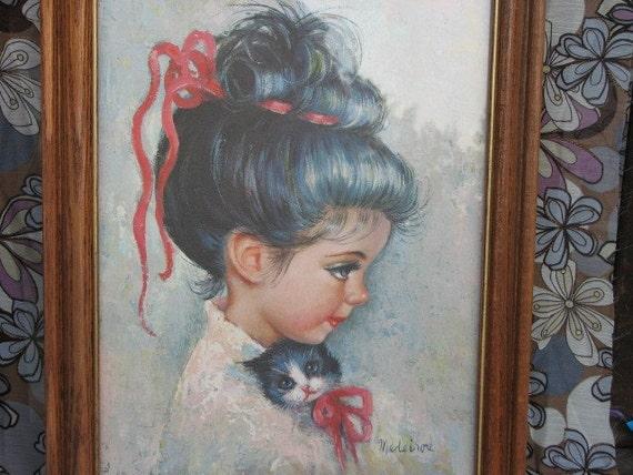 SUGAR BON by MEDEIROS Print - Framed Vintage
