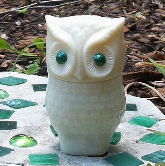 Green Eyed OWL Stash Nug Jar