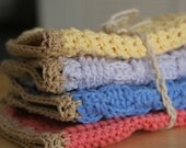 organic cotton baby washcloths