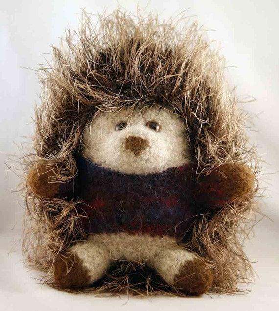 Crazy Purple Sweater Hedgehog