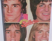 The Bay City Rollers Recycled Record Album Journal