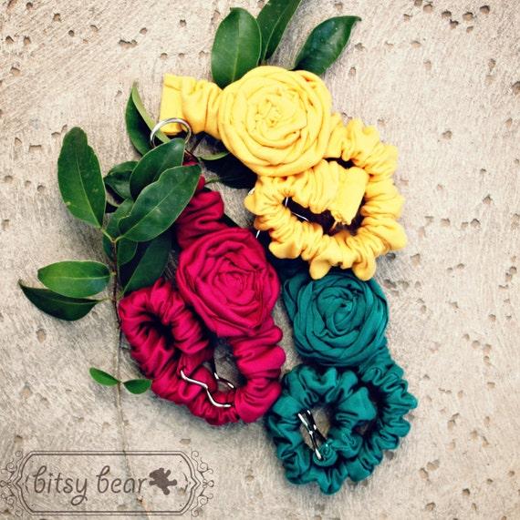 Rosette Knit Belt for Toddler, Girl, and Woman