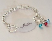 Additional birthstone crystal for Mothers Jewelry collection - YOU PICK COLOR