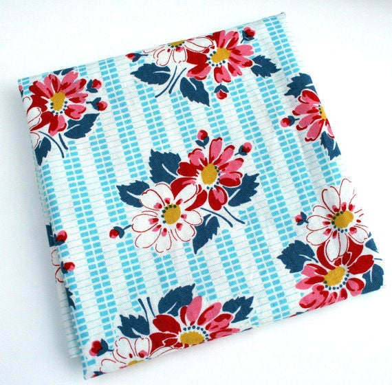 Denyse Schmidt Floral Picnic Fabric 1 1/2 yards