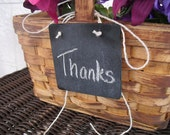 Hanging Square Chalkboard Signs - Item 1066