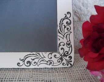 Chalkboard - SMALL Shabby Chic Damask Chalkboards for Signs and Table Numbers or Photo Props - Item 1178