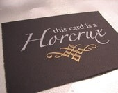 Horcrux Cards - Black