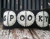 A Shabby Spooky Pillow