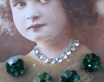 Vintage Swarovski Margarita Crystals 230VIN x2