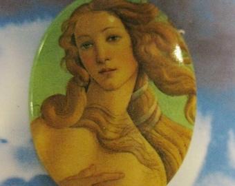 Vintage Venus Porcelain 40x30 Cameo Cabochon 1066VIN X1