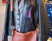 Snake Buffalo Leather Bookbag