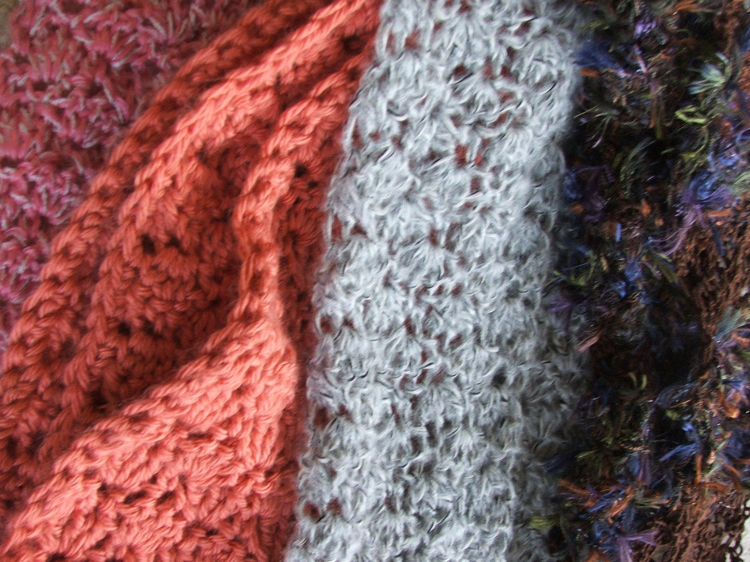 Crochet pattern crocheted scarf stitch pattern instant zoom bankloansurffo Images
