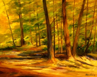 Landscape Oil Painting ILLUMINATION 18x24
