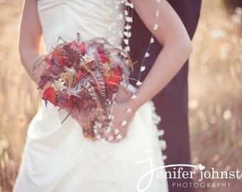 AUTUMNAL HARVEST Wedding Bouquet