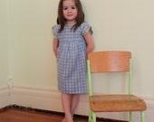 Yellow Ric-rac 50's handmade dress