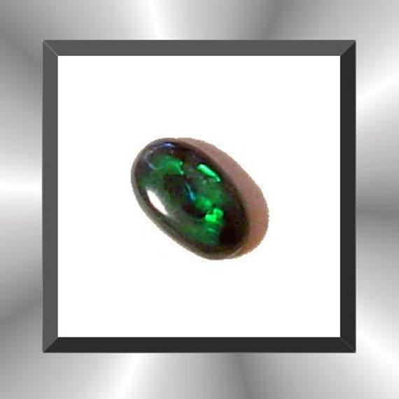 Australian Black Opal  From Lightning Ridge, 6 mm X 4 mm x 2 mm