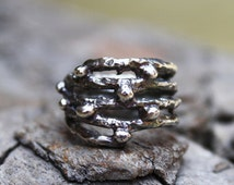 Twigs and Berries Rings