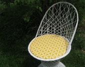 RESERVED for Sherrie -1960's Spun fiberglass chair