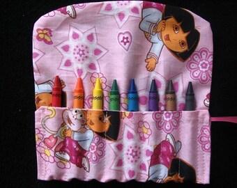 Dora the Explorer Travel Crayon Holder