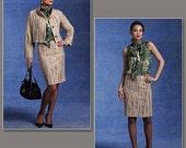 Vogue 1127 Badgley Mischka Skirt Suit Pattern Sizes 14-20