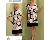 Vogue 1103 DKNY Babydoll Dress Pattern