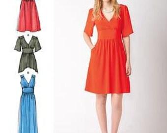 Cynthia Rowley Short or Long Dress Simplicity 1801