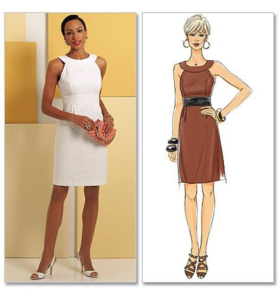 Butterick 5353 Muse Fitted Sheath Dress Pattern Size 8-14