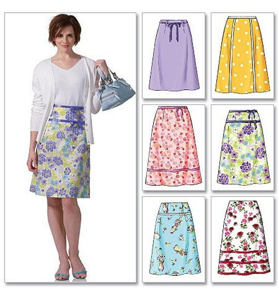 fast easy skirt pattern mccall s 4461
