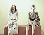 Fashion Photography Art Mannequin Wall Art Print Couple - OKLAHOMA
