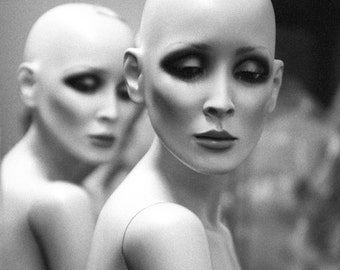 Black and White Photography Art Mannequin Photo Fashion Backstage Secret Society No6